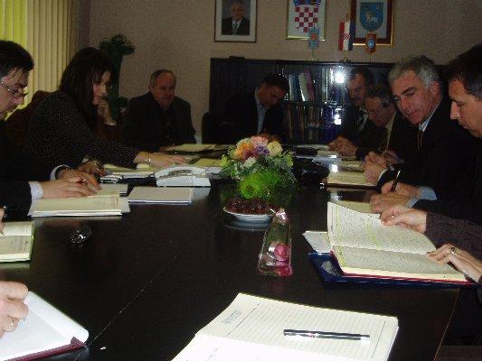 Šibensko-kninski župan Goran Pauk posjetio grad Knin