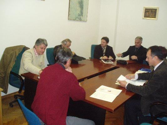 Šibensko-kninski župan Goran Pauk posjetio općinu Promina i grad Drniš