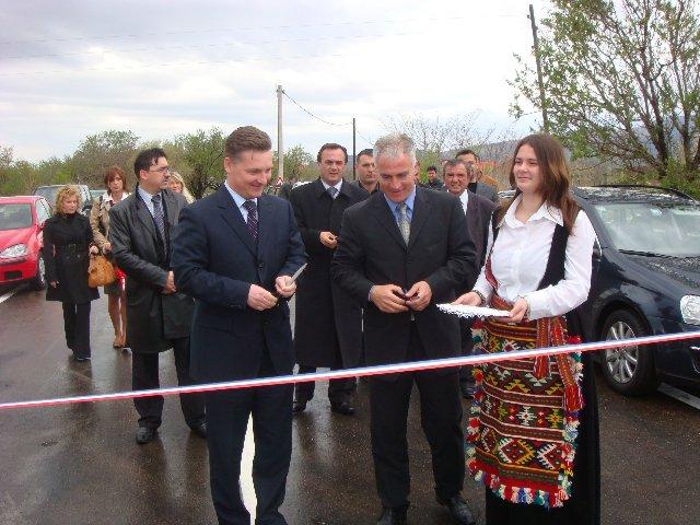 Otvorena cesta Miočić – Štikovo