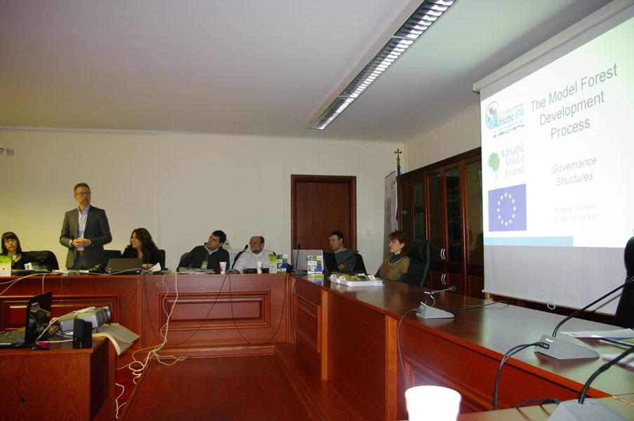 Održan treći međunarodni sastanak u okviru projekta AMF - Adriatic Model Forest