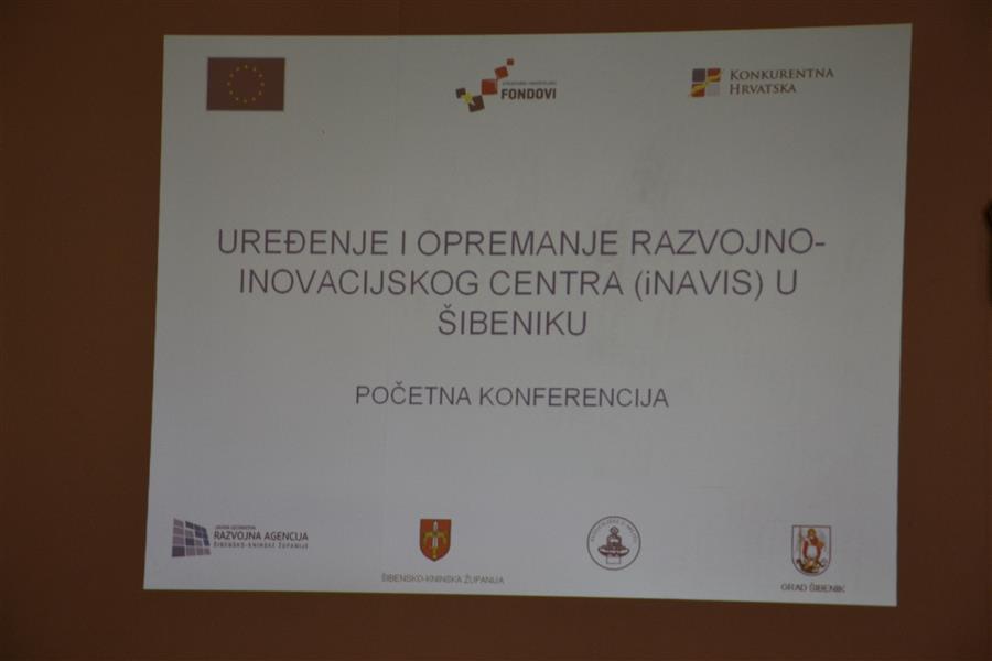 """Održana kick-off konferencija Projekta """"Uređenje i opremanje razvojno-inovacijskog centra iNavis u Šibeniku"""""""