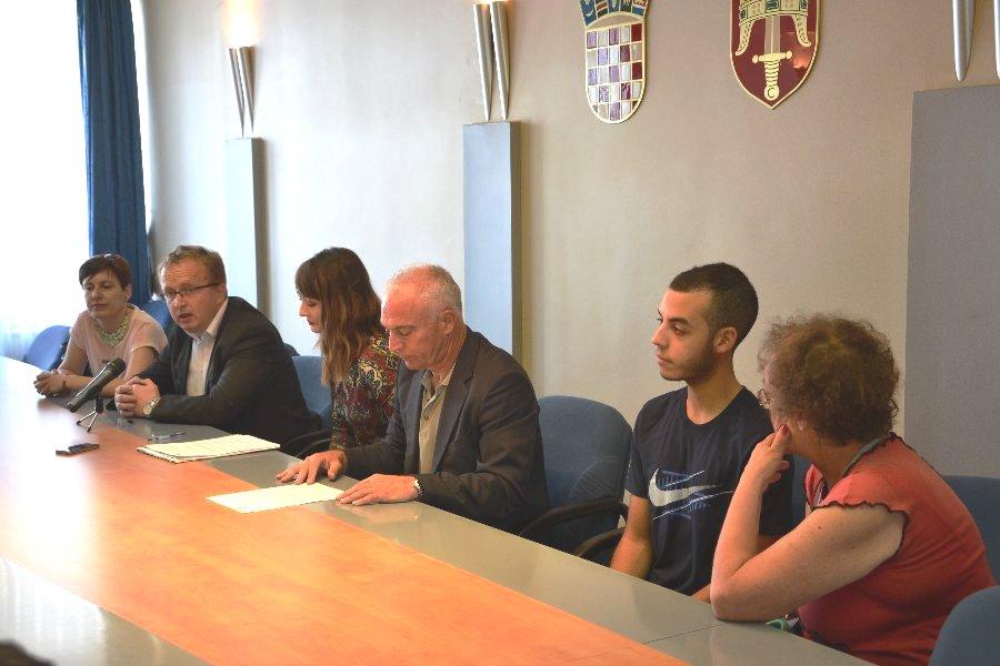 """U okviru programa """" Eurodyssee"""" Nourdine Bougrara stigao u Šibensko-kninsku županiju na usavršavanje"""