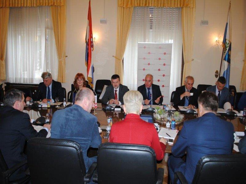 O upravljanju državnom imovinom i reformi područne (regionalne) samouprave na 42. sjednici Izvršnog odbora u Zadru