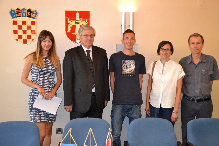 Michele Somazzi iz švicarske regije Ticino stigao na profesionalno i jezično usavršavanje u Šibensko-kninsku županiju
