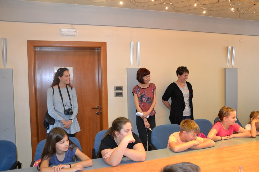 Župan primio učenike trećeg razreda iz Tisnog i Jezera