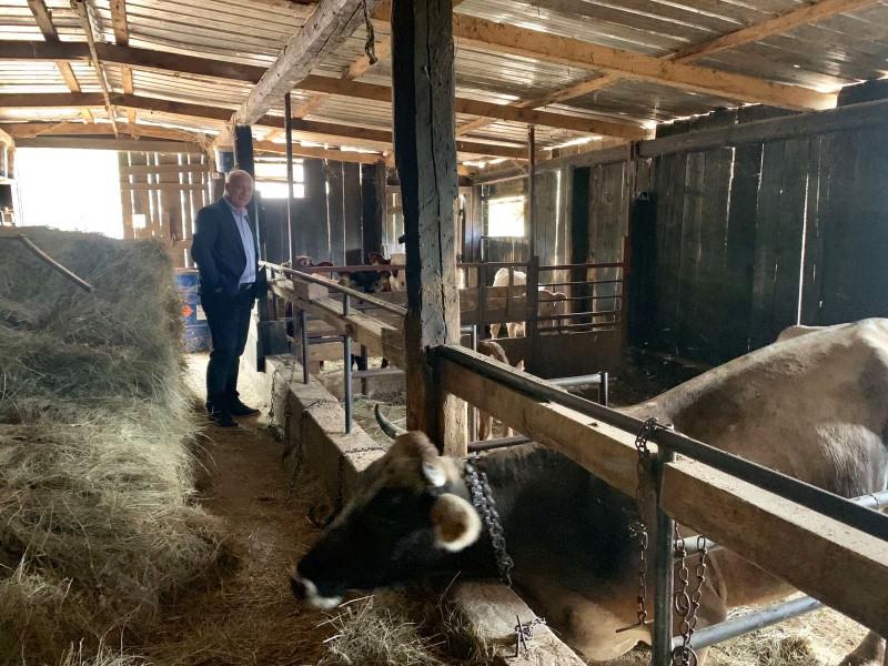 Župan Goran Pauk posjetio mlade OPG-ovce,  korisnike županijskih subvencija za poljoprivrednike