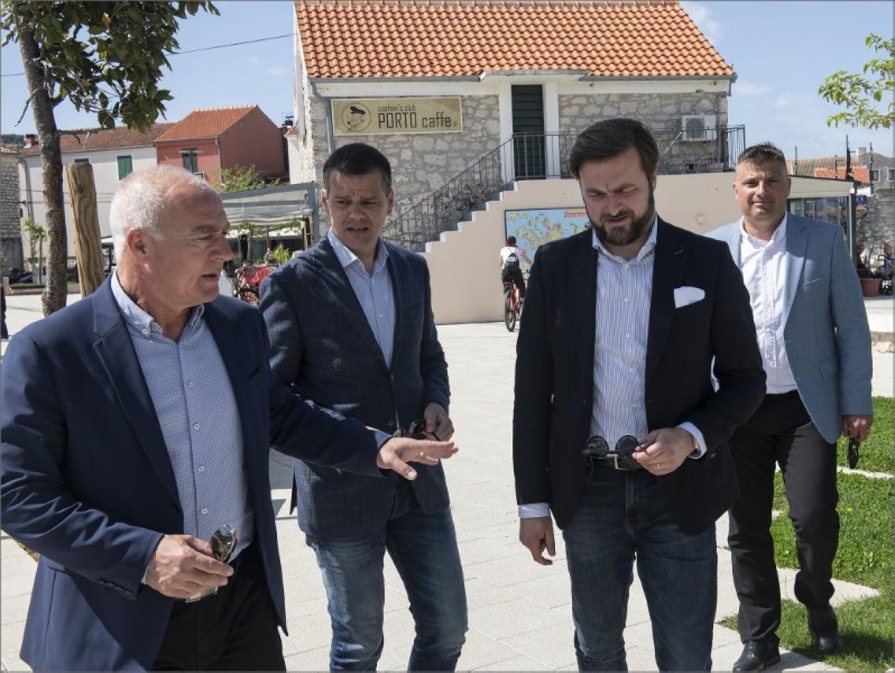 Ministar Ćorić u radnom posjetu Šibensko-kninskoj županiji