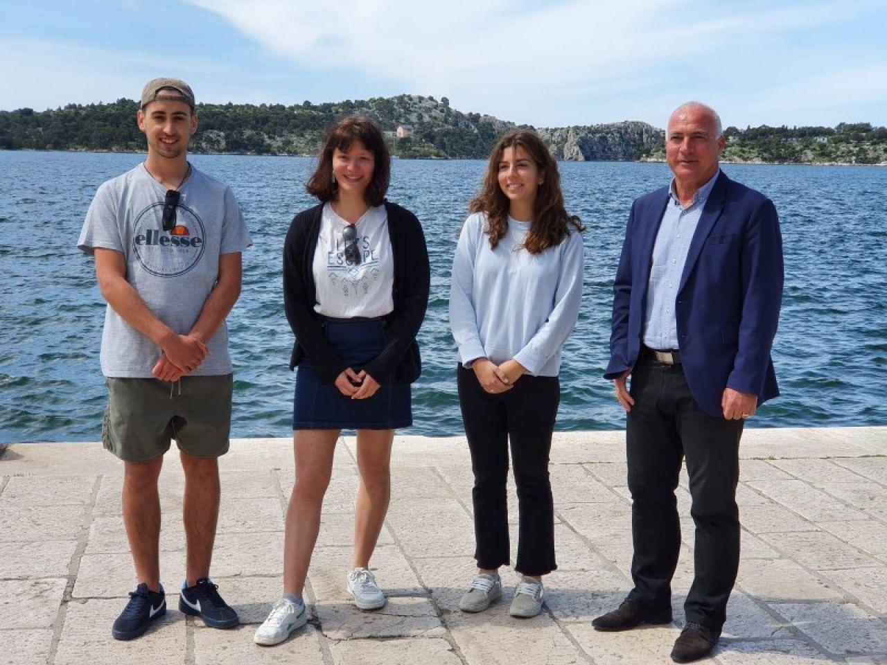 Troje mladih Europljana stiglo je na profesionalno i jezično usavršavanje u Šibensko-kninsku županiju