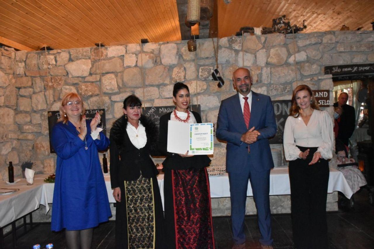 "Dodijeljeni certifikati za oznaku kvalitete ""Rural Experience"" Dalmacija-Šibenik Quality"