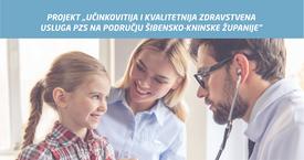 """Projekt """"Učinkovitija i kvalitetnija zdravstvena usluga PZS na području ŠKŽ"""""""